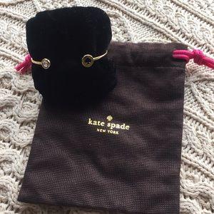 Kate Spade hinged cuff bracelet